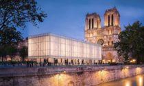 Pavilon před Notre-Dame odGensler
