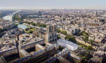Pavilon před Notre-Dame od Gensler