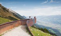 Perspektivenweg v Innsbrucku od ateliéru Snøhetta