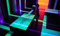 Daan Roosegaarde a ukázka z výstavy Presence