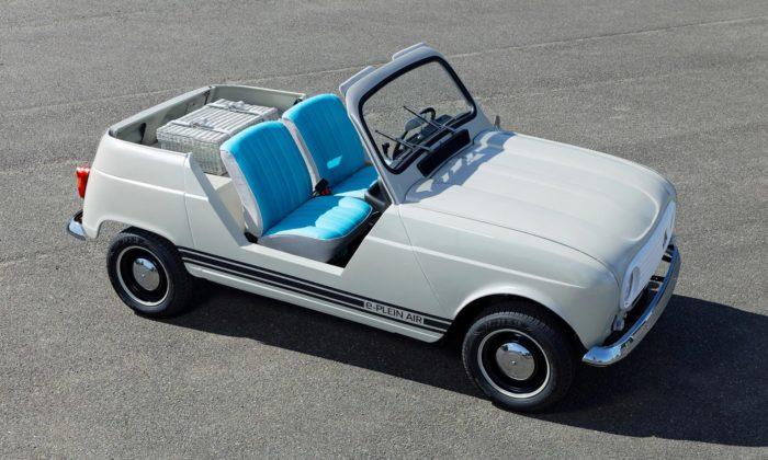 Renault postavil koncept dvoumístného výletního vozítka e-Plein Air