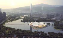 Yiwu Grand Theater v Číně od MAD
