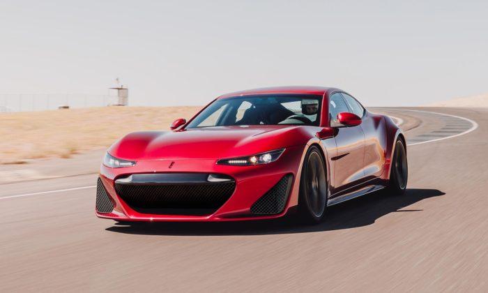 Drako GTE jeelektrický čtyřmístní sedan zUSA svýkonem supersportu