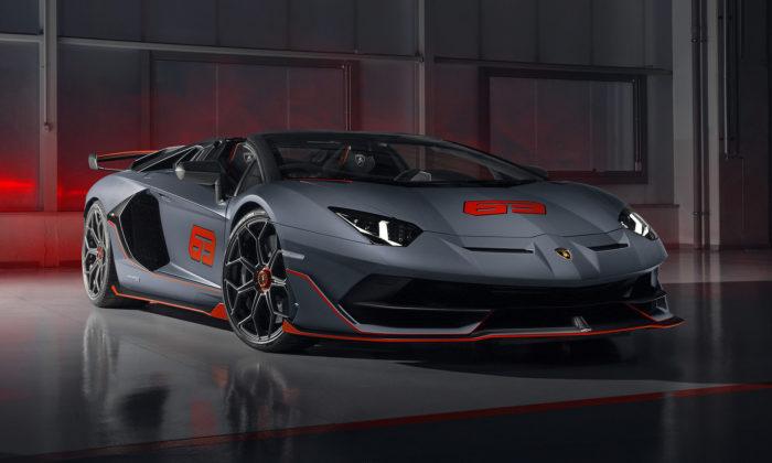 Lamborghini ukázalo limitovanou verzi supersportu Aventador SVJ63 Roadster
