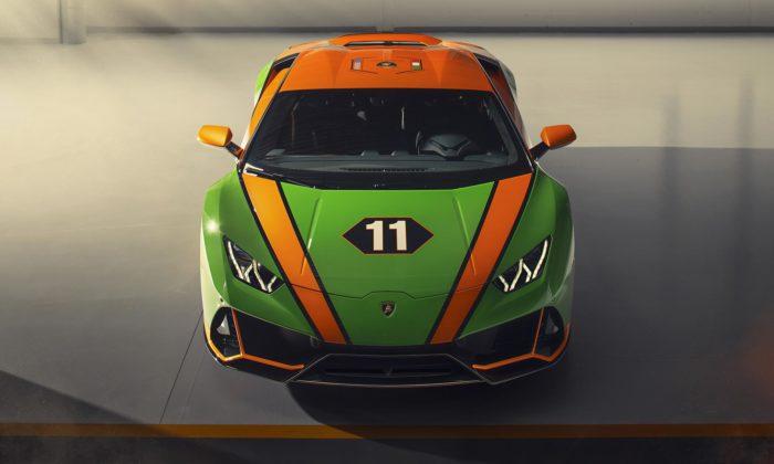 Lamborghini oslavuje vítězství speciálním modelem Huracán EVO GT Celebration