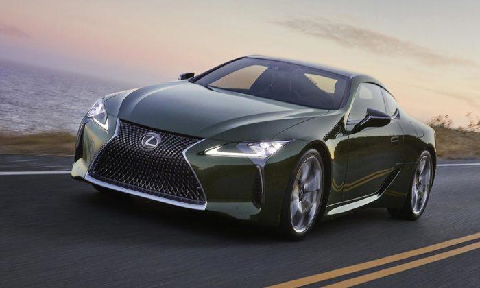 Lexus ukázal limitovanou edici svého sportovního kupé LC 500 narok 2020