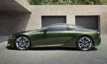 Lexus LC 500 v limitované edici na rok 2020