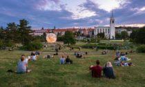 Model Měsíce v Brně na Kraví hoře