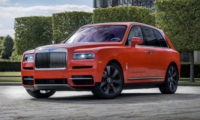 Rolls-Royce vyrobil sběrateli namíru svůj Cullinan vespeciální oranžové