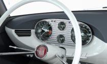 Interiér vozu Tatra 603X Coupé navizualizaci