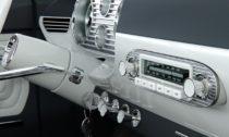 Interiér vozu Tatra 603X Coupé na vizualizaci