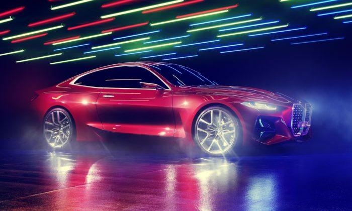 BMW ukázalo stylový Concept 4 naznačující brzký příchod nového kupé
