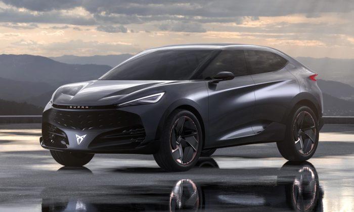 Cupra představila velké elektrické SUV vestylu kupé pojmenované Tavascan