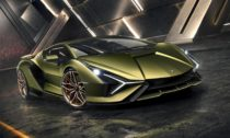 Hybridní supersport Lamborghini Sián