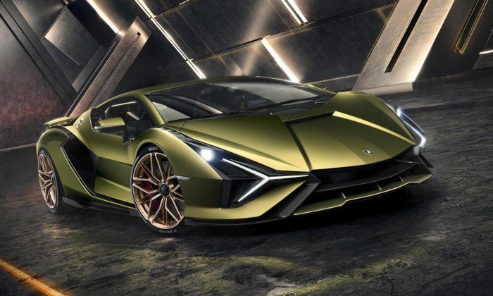 Lamborghini představilo svůj první hybridní supersport sejménem Sián