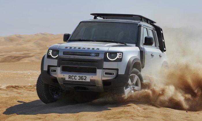 Land Rover představil zcela nový Defender navržený pro 21.století