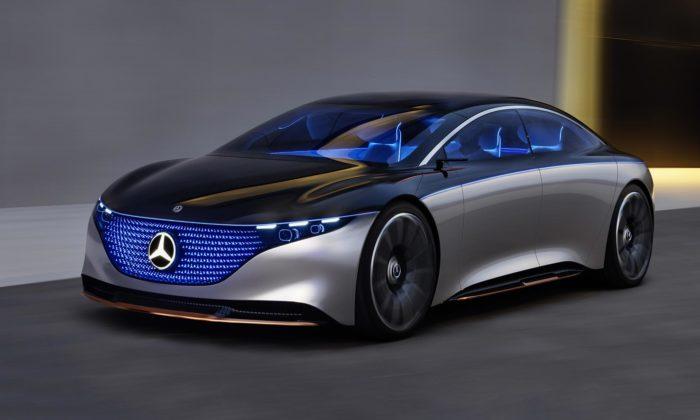 Mercedes-Benz sepochlubil futuristickým konceptem Vision EQS
