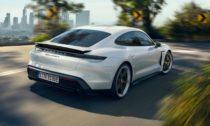 Elektricky poháněné Porsche Taycan ve finální verzi