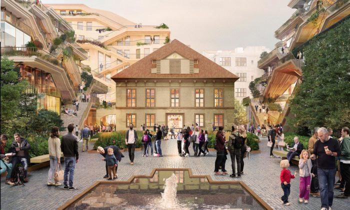 Heatherwick navrhl obří projekt Savarin uVáclavského náměstí vPraze