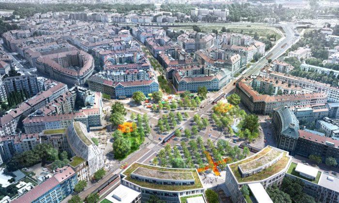Mandaworks navrhli druhou nejlepší podobu Vítězného náměstí anyní budou přednášet vPraze