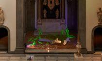 Rony Plesl a jeho instalace Sacred Geometry