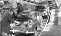 Výroba vozů Mini
