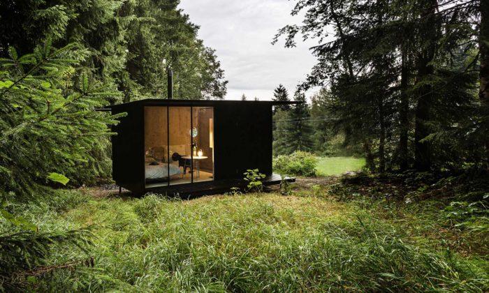 Devoto postavilo veSmržovce první rekreační domek Tiny House Done