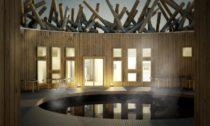 Hotel s lázněmi Arctic Bath ve švédském Harads