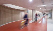 Cyklistické parkoviště v Utrechtu od Ector Hoogstad Architecten