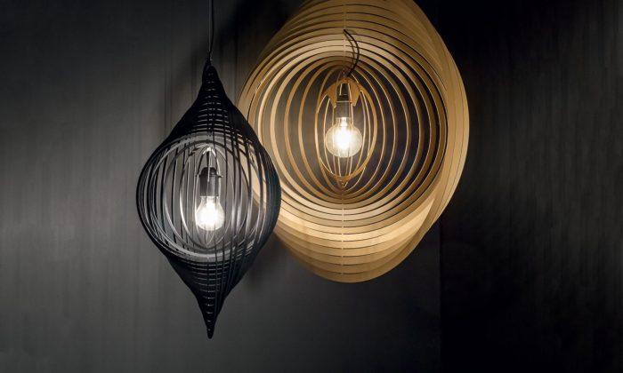 Delta Light vytvoří naDesignbloku instalaci svítidel zkovových lamel