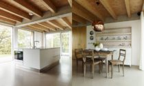 Dům se skleníkem od Richard David Architekti v Chlumu u Hořic v Podkrkonoší