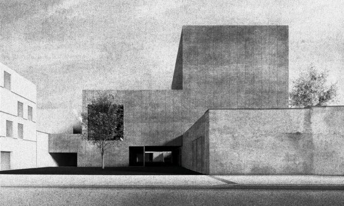 Student architektury navrhl nové divadlo pro Jindřichův Hradec avyhrál soutěž