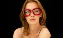Nastassia Aleinikava aletní kolekce brýlí pro optiku IOKO