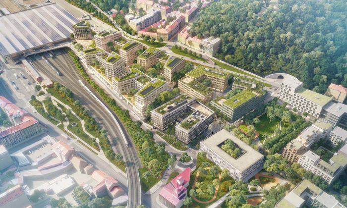 Praha zná podobu druhé částí megalomanského projektu Smíchov City