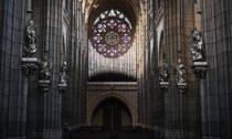Svatovítské varhany ve finální podobě na vizualizaci