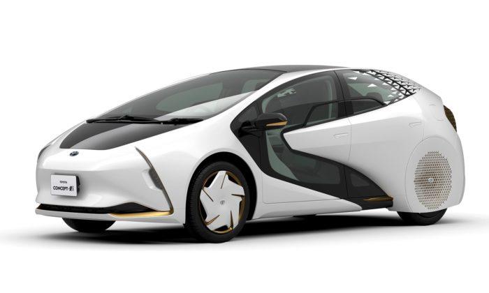 Toyota chystá naolympiádu vTokiu 2020 autonomní Concept-i