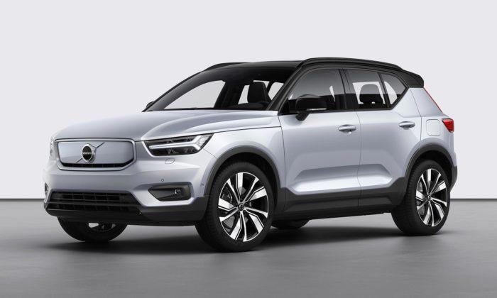 Volvo představilo svůj první plně elektrický model XC40 Recharge