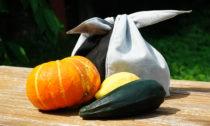 2. místo kategorie A: Sáček na ovoce a zeleninu a Lucie Černochová
