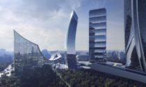 The Portico od BIG ve čtvrti CityLife Milan