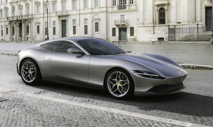 Ferrari zabodovalo apředstavilo elegantní kupé Roma svysokým výkonem