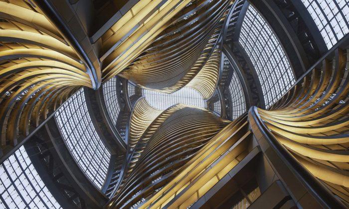 Futuristická věž Leeza Soho odZahy Hadid má nejvyšší átrium nasvětě