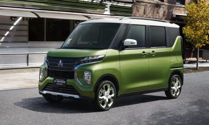Mitsubishi ukázalo koncept vysokého kombi K-Wagon navrženého nadelší cesty