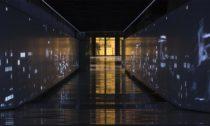 Multimediální expozice Momenty dějin ve spojovací chodbě pod Národním muzeem