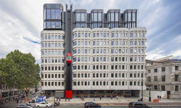 V Londýně zachránil brutalistickou stavbu vcentru apřestavěli jí nastylový hotel