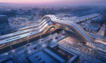 Terminál pro Rail Baltic odZaha Hadid Architects aEsplan