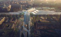 Terminál pro Rail Baltic od Zaha Hadid Architects a Esplan