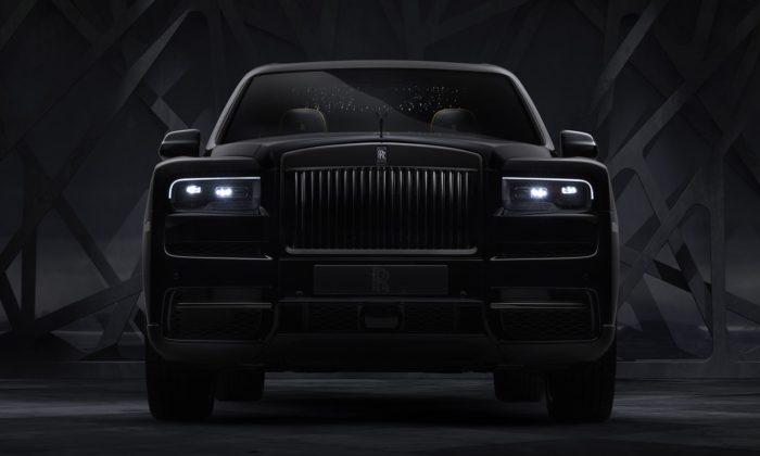 Rolls-Royce ukázal model Cullinan vespeciální černé avýkonnější edici Black Badge