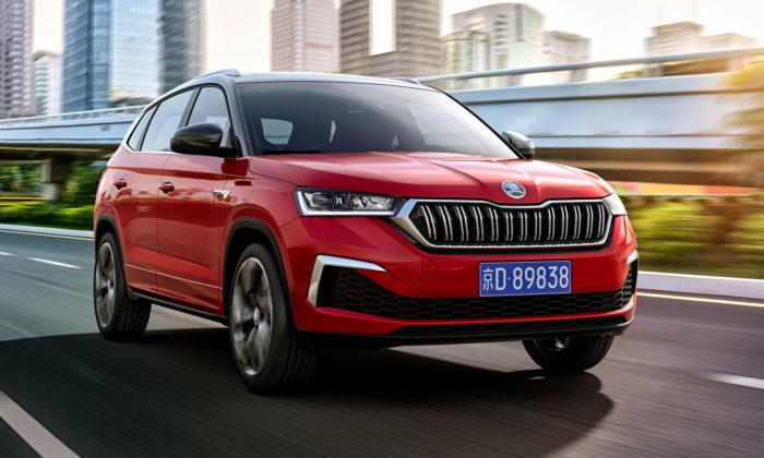 Škoda představila speciálně upravený Kamiq GT pro mladé Číňany