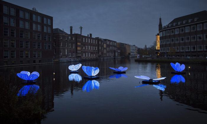 Amsterdam dokonce ledna rozsvítil Light Festival s20 světelnými instalacemi