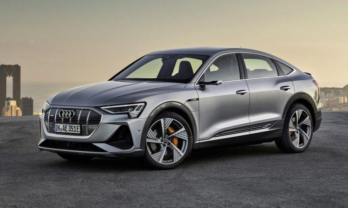 Audi rozšiřuje plně elektrický model e-tron ostylovější verzi Sportback